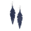 Viaminnet Feathers Midi Nappa Night Blue