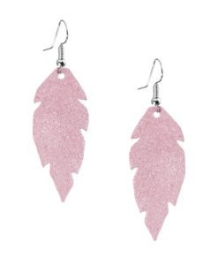Petite Feathers powder pink are light and delicate eye-catchers. Due to their size and lightness they are suitable for wearers of all ages, and are often the our customers' first pair of Viaminnet -earrings.