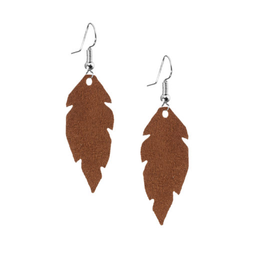 Petite Feathers brown are light and delicate eye-catchers. Due to their size and lightness they are suitable for wearers of all ages, and are often the our customers' first pair of Viaminnet -earrings.