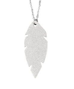 Viaminnet Petite Feathers Powder Frost Necklace
