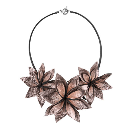 Viaminnet Lumme Trio Rose Gold Necklace