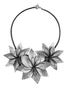 Viaminnet Lumme Trio Silver Necklace