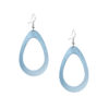SADE Raindrop Petite Mirror Light Blue Earrings