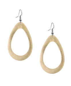 Viaminnet Sade Raindrop Petite Mirror Gold Earrings