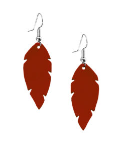 Feathers Petite Red Nappa