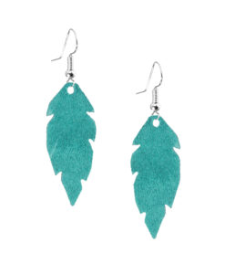 Viaminnet Feathers Petite Suede Turquoise