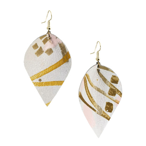 Viaminnet x Lotta Sirén Leather Earrings No. 504 Cute Is In Earrings