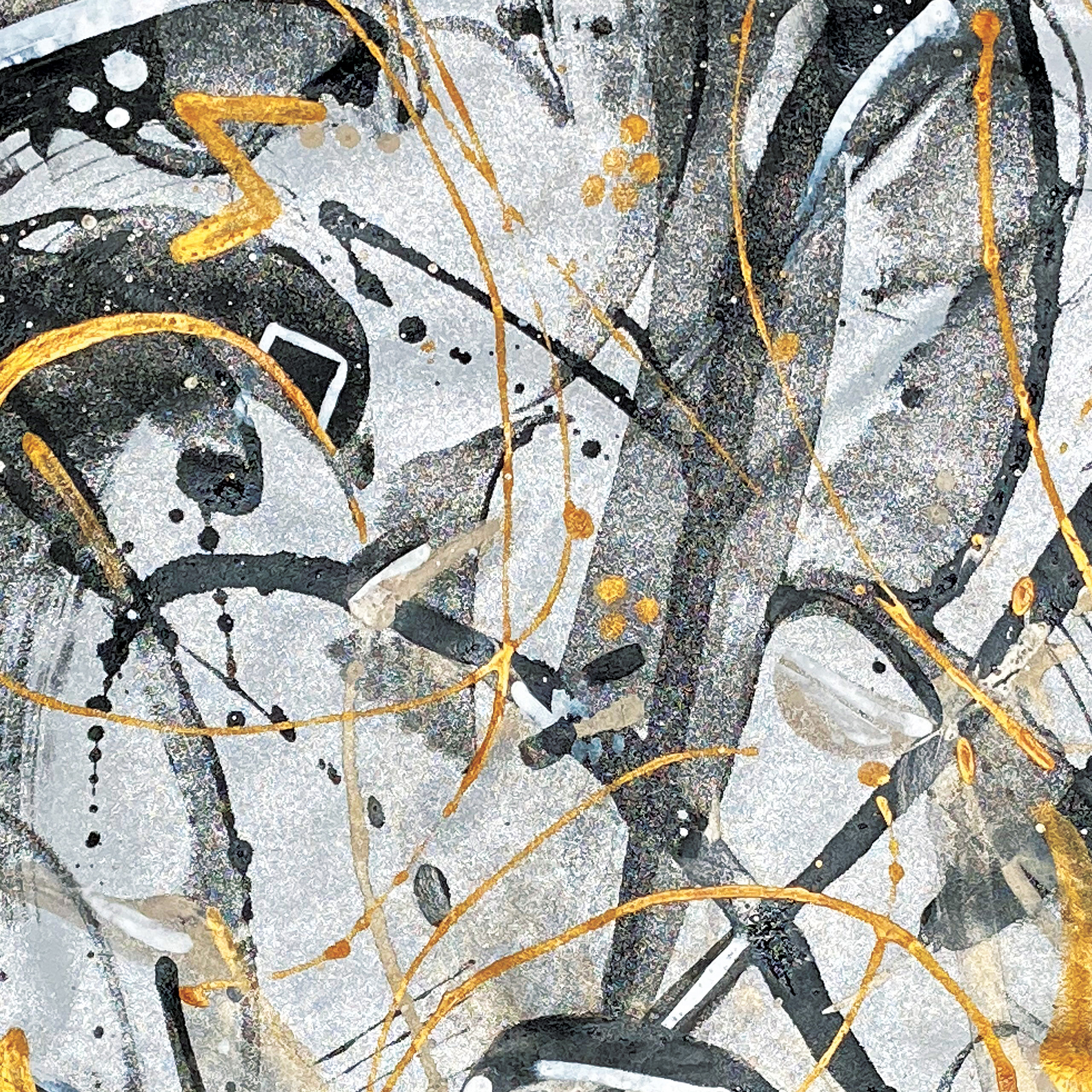 Viaminnet x Lotta Sirén - Abstract Glamour painted leather
