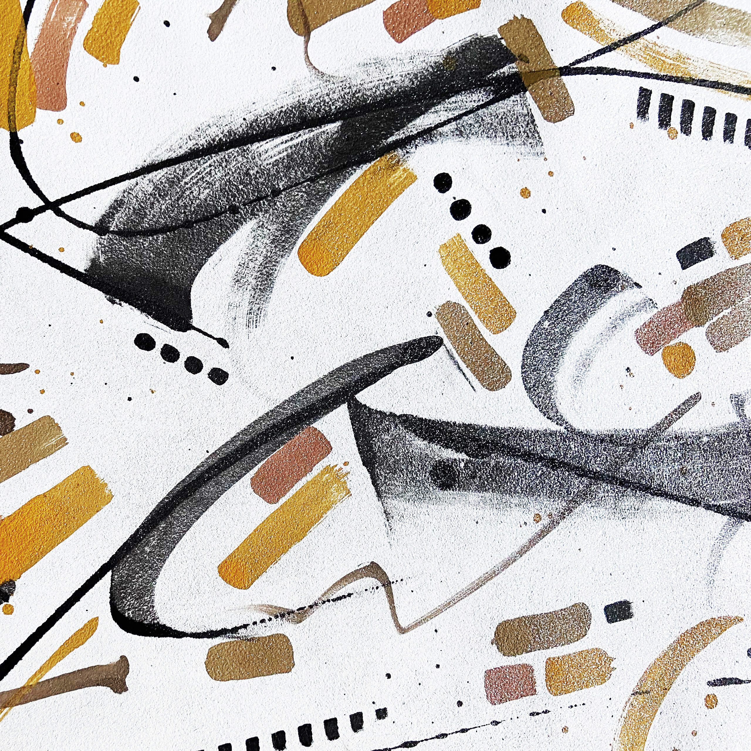 Viaminnet x Lotta Sirén - Making My Mark painted leather