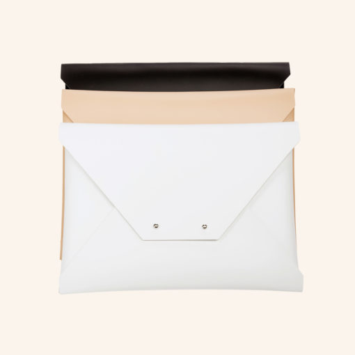Clutch Recycled Leather